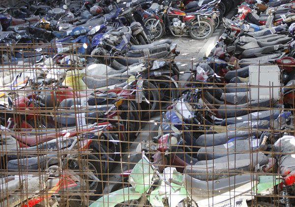 Castigado por comprar moto robada