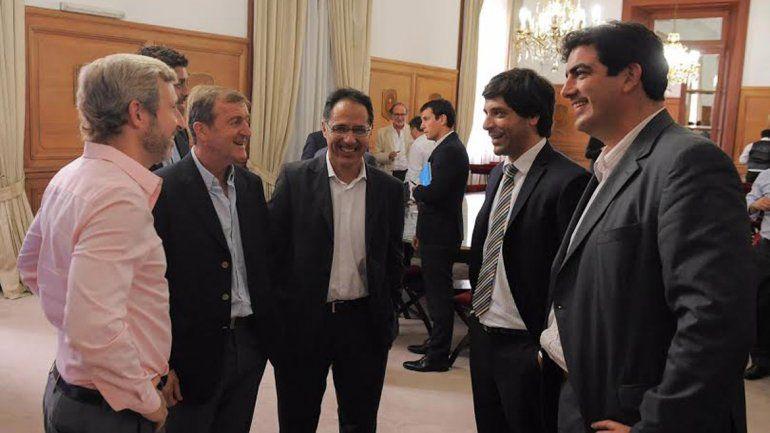 El intendente viajó acompañado del Diputado Sergio Wisky y el secretario de Gobierno Diego Vazquez