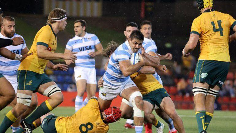 Los Pumas remontaron y empataron con Australia 15 a 15