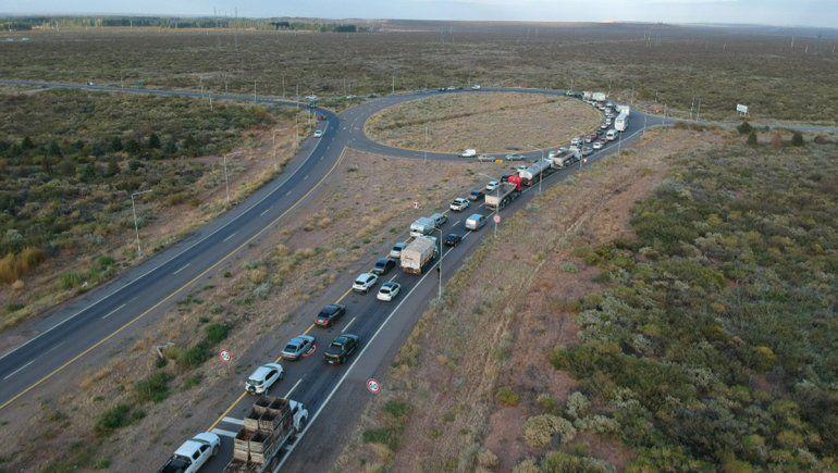 Viajar a la cordillera es un caos: no se puede llegar a Arroyito