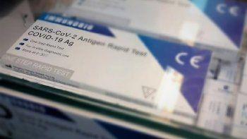 Prohíben venta de test rápidos para detección del COVID-19