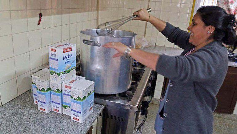 Los chicos nuevamente contarán con el refrigerio en las escuelas de Río Negro