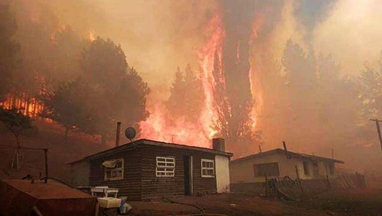 Están las condiciones para que sea un incendio catastrófico
