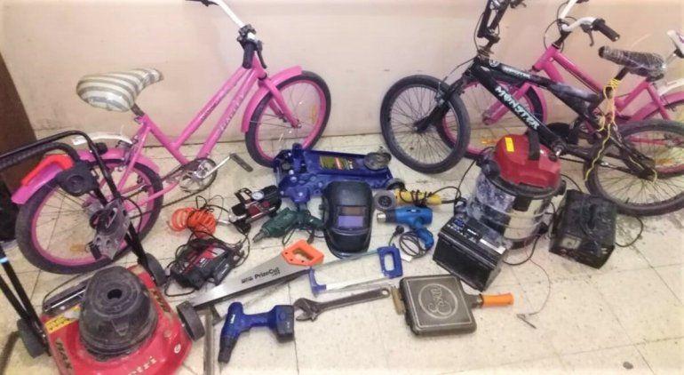 Tras una persecución, la Policía recuperó un botín de casi 80 mil pesos