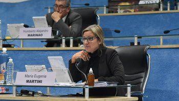 María Eugenia Martini del bloque Frente de Todos lanzó la advertencia sobre la deuda pública.