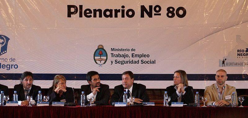 Se inauguró la reunión plenaria del Ministerio de Trabajo de Nación