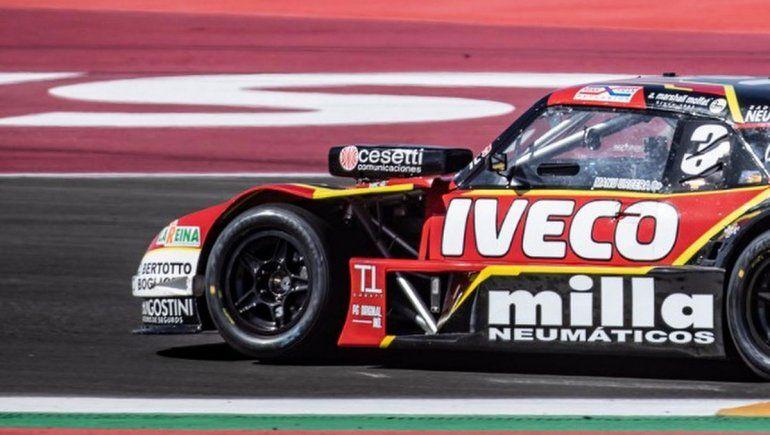Manu Urcera terminó sexto en la clasificación del TC en San Juan
