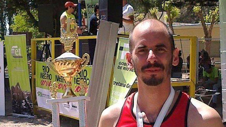 Pena fue el mejor cipoleño clasificado en la prueba Río Negro Corre.