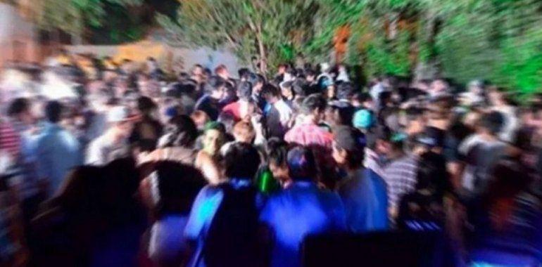 Una fiesta clandestina indignó a los vecinos de Centenario