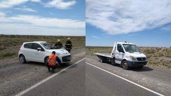 un hombre murio en un brutal accidente sobre la ruta 151