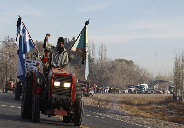 Productores realizarán un tractorazo el jueves
