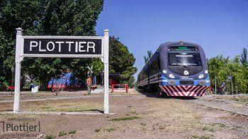 el tren del valle llegara hasta plottier antes de la fecha prevista