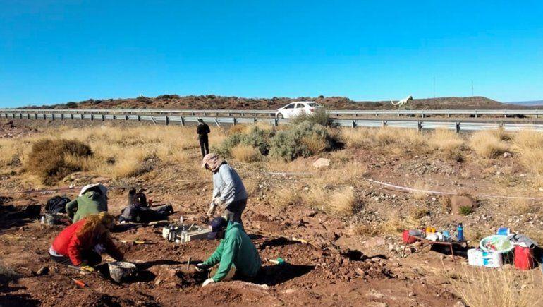 Villa El Chocón: descubren fósiles de un dino de 99 millones de años