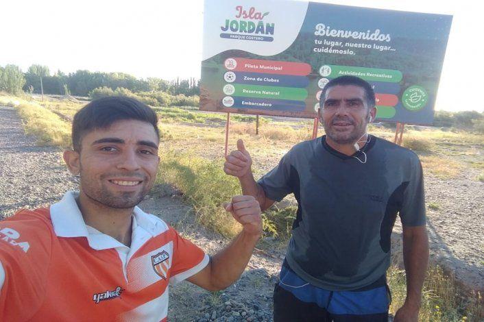 Dos cipoleños correrán 600 kilómetros por los perros de la Isla Jordán