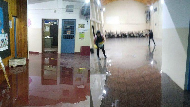 Suspendieron las clases en Cipolletti por la tormenta