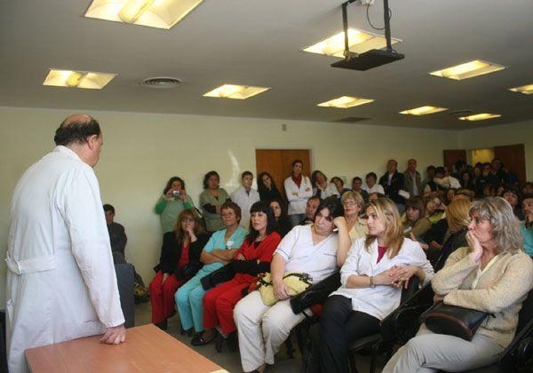 Trabajadores definen postura para la interhospitalaria