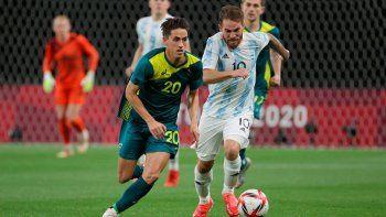 Argentina perdió con Australia en el debut de los Juegos Olímpicos