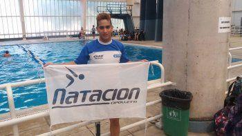 Lascano, de 17 años, representa al Club Cipolletti.