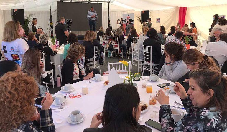 Se concretó con éxito  el encuentro Liderazgo Mujeres