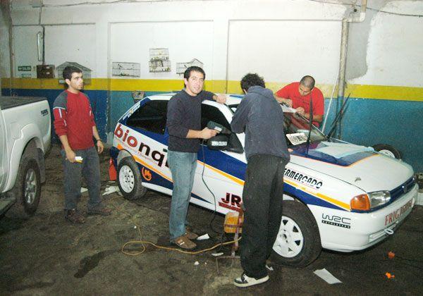 Cipoleños en la segunda fecha del Rally Regional