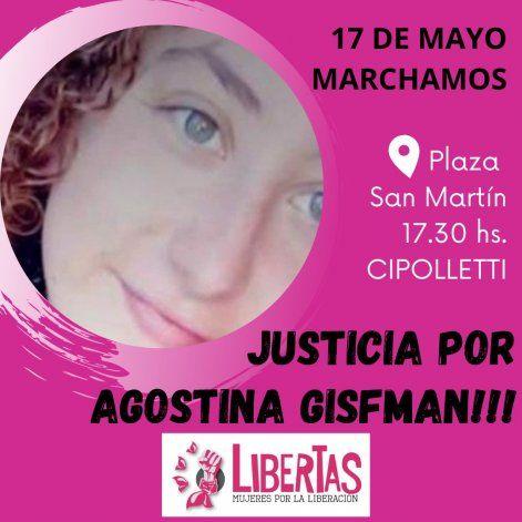 Hoy marchan por Agostina en Cipolletti