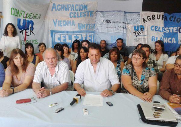 Unter y Educación alcanzaron un acuerdo por la pauta salarial 2013