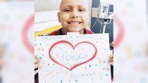 valentin asimila el trasplante, con una reaccion esperada
