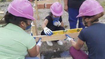mujeres constructoras, un proyecto con resultados