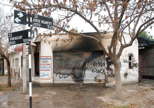 Se incendió una casa en Newbery y Paraguay