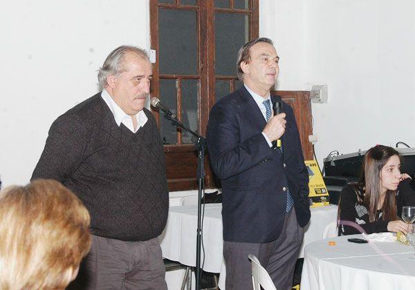 Con Reggioni, Pichetto encabezó un encuentro partidario en Fernández Oro