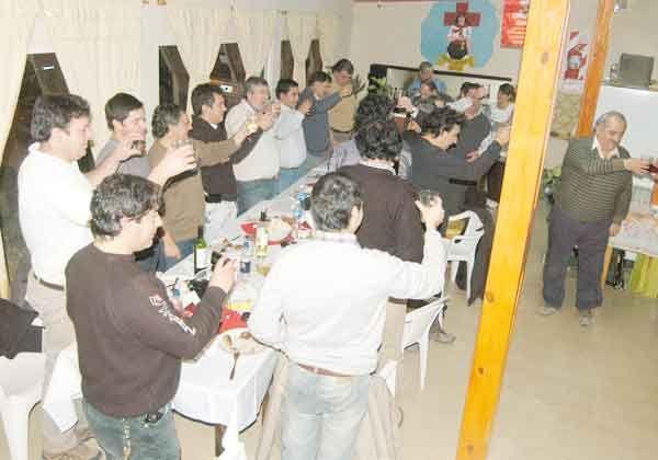 Festejo en Oro con los periodistas