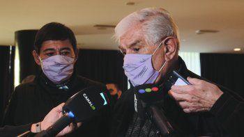 Los sindicalistas Marcelo Rucci y Guillermo Pereyra hablaron de los avances y frenos.
