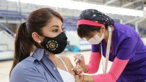 el 86,5% del personal estrategico ya fue vacunado contra el covid-19