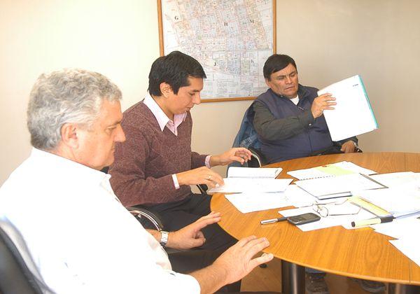 Baratti se reunió con sindicatos municipales