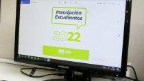 se habilito la inscripcion para el ciclo lectivo 2022 en formato papel