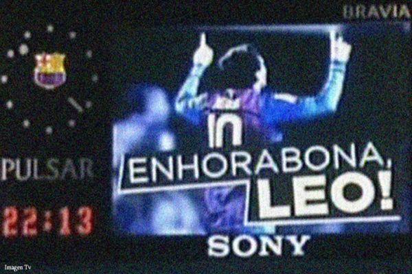 Otro récord de Messi