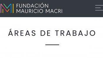 Macri lanzó la fundación y pronto se convirtió en tendencia