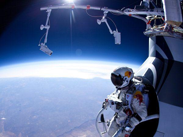 Paracaidista saltó desde 29 kilómetros de altura