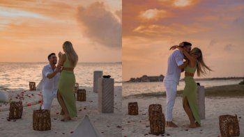Campeón y al altar: la romántica propuesta de casamiento de Tagliafico a su novia