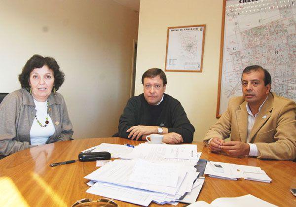 Los candidatos de la Concertación se reunieron con Weretilneck