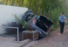 Mujer grave tras accidente sobre la Ruta 7