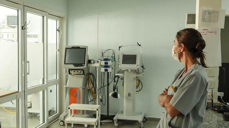 Camas de terapia intensiva están ocupadas al 100%