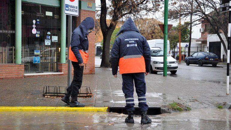 El Municipio reforzó tareas preventivas ante el pronóstico de lluvia