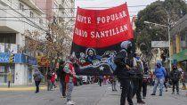 el frente santillan amenaza con mas protestas