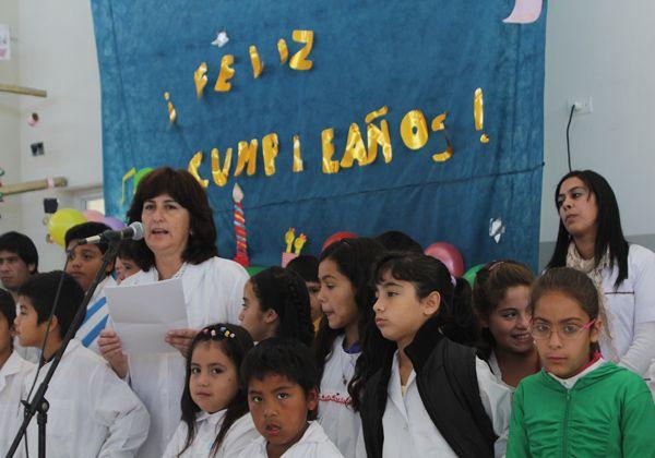 La Escuela 366 festejó su primer año