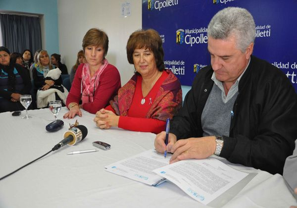 Acuerdo para capacitar al personal de Centros Infantiles de Cipolletti