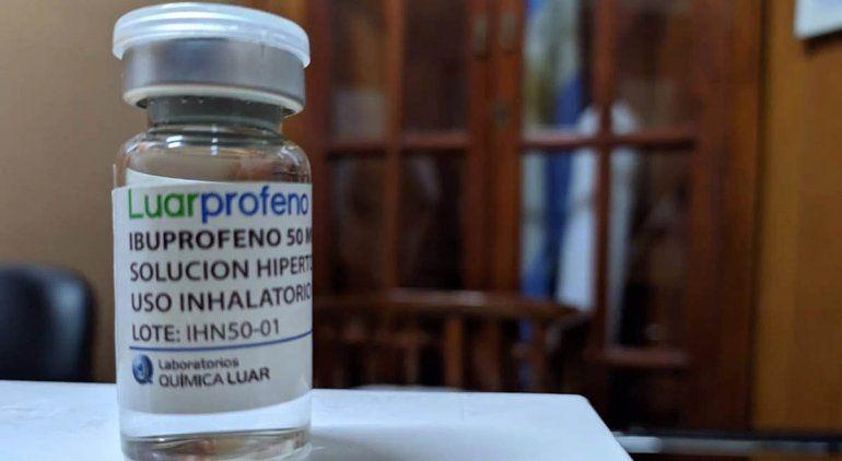 Quieren usar Ibuprofeno inahalado en pacientes graves