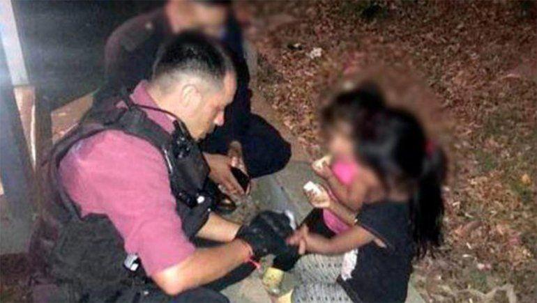 Una pareja abandonó a sus hijas de 2 y 4 años y fue detenida por la policía