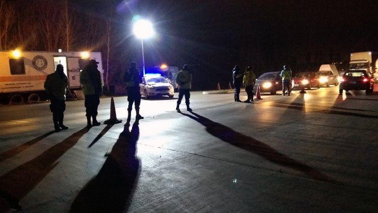 Cayeron once conductores borrachos en Cipolletti y Cinco Saltos