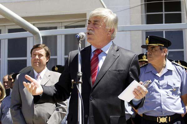 Soria puso en funciones al Jefe y Subjefe de la Policía de Río Negro